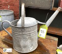 Apex galvanised Watering Can (LOCATION: Sussex Street, Sheffield)