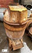 Romesse cast iron Stove, 850mm tall x 400mm diameter (LOCATION: Sussex Street, Sheffield)