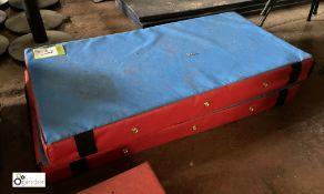 2 cushioned Mats, 1000mm x 500mm