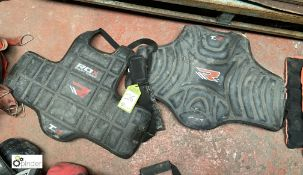 2 various Chest Guards