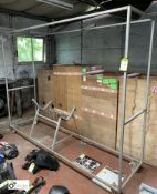 Mobile fabricated Weights Frame