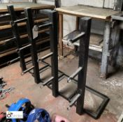 4 fabricated wall mounted punch bag Hanging Frames