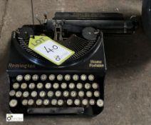 Remington Home portable manual Typewriter