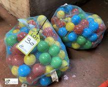 2 bags Ball Pool Balls