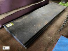 3 Floor Mats, 1830mm x 500mm