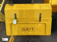 Grit Salt Box, approx. 840mm (LOCATION: Station Lane)