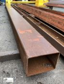 Steel Box Section, approx. 4520mm x 200mm x 150mm (LOCATION: Station Lane)