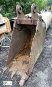 Trench Bucket, approx. 600mm, 3 teeth (LOCATION: Woodhead Road)