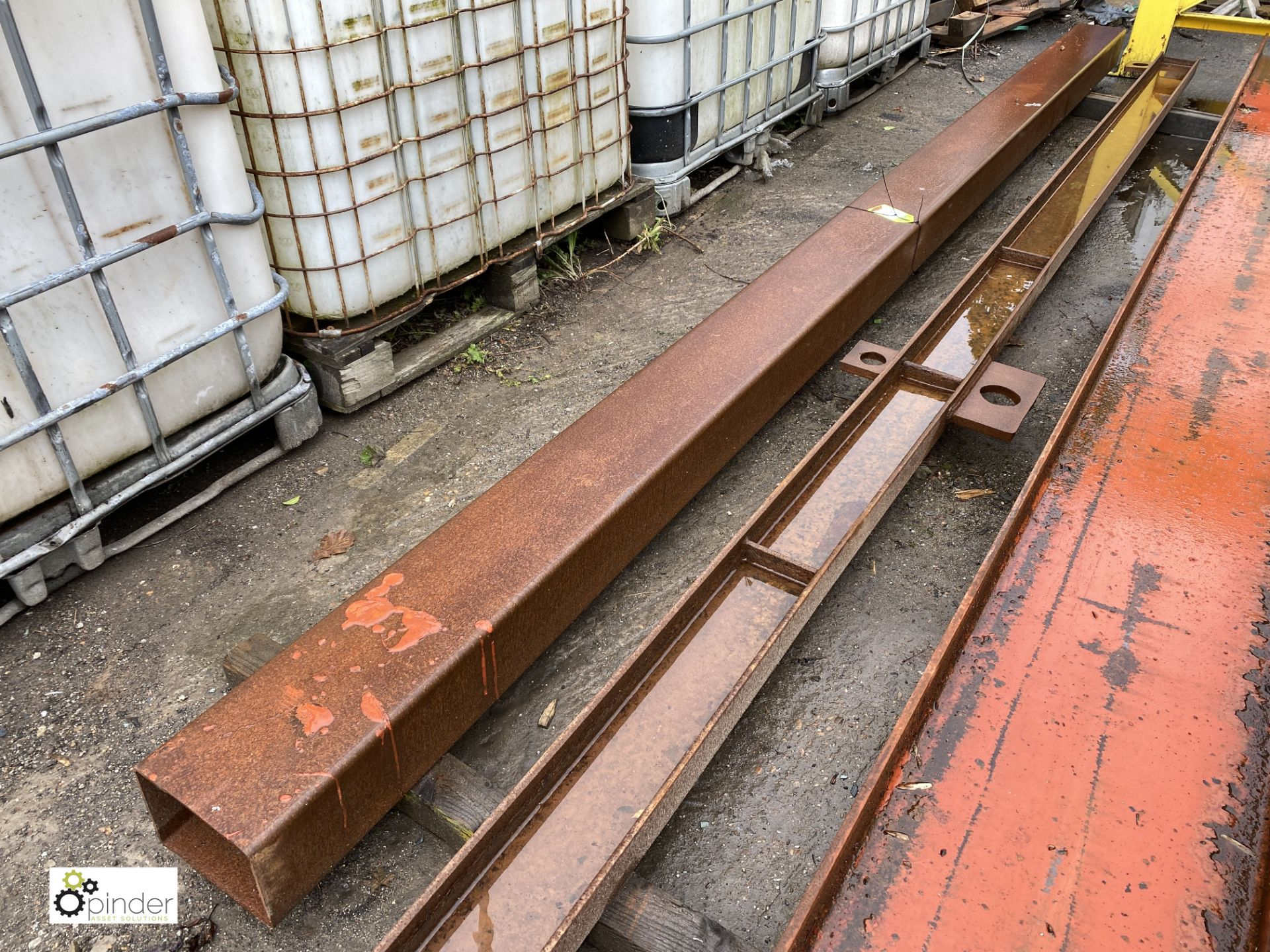 Steel Box Section, approx. 4520mm x 200mm x 150mm (LOCATION: Station Lane) - Image 3 of 3