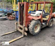 Manitou Buggie MC20 Rough Terrain Forklift Truck, 2000kg capacity, duplex mast, diesel, pneumatic