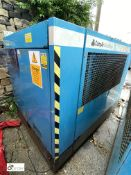 Compair Broomwade 6100 Packaged Air Compressor, serial number F082/1288, Maximum pressure 7bar,