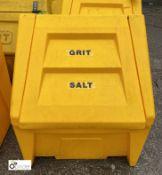 Grit Salt Box, approx. 700mm (LOCATION: Station Lane)