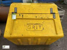 Grit Salt Box, approx. 940mm (LOCATION: Station Lane)
