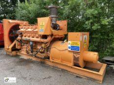 Caterpillar D398 Tamper Synchronous Generator - KVA 575, KW 460, RPM 1000, Volts 460, Amps 722, Code