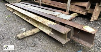 5 various H-Section/Girders (LOCATION: Woodhead Road)
