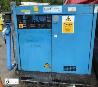 Compair Type 6100 Packaged Air Compressor, Serial No F082/1289, Maximum pressure 7 bar, 75 Kw, 100