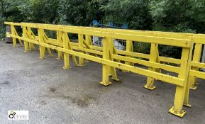 Heavy duty fabricated Barrier, approx. 8250mm x 1090mm (LOCATION: Station Lane)