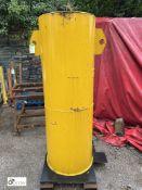 Forklift Truck Test Weight, 1250kg, approx. 1740mm x 600mm diameter (LOCATION: Station Lane)