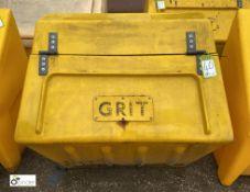 Grit Salt Box, approx. 830mm (LOCATION: Station Lane)