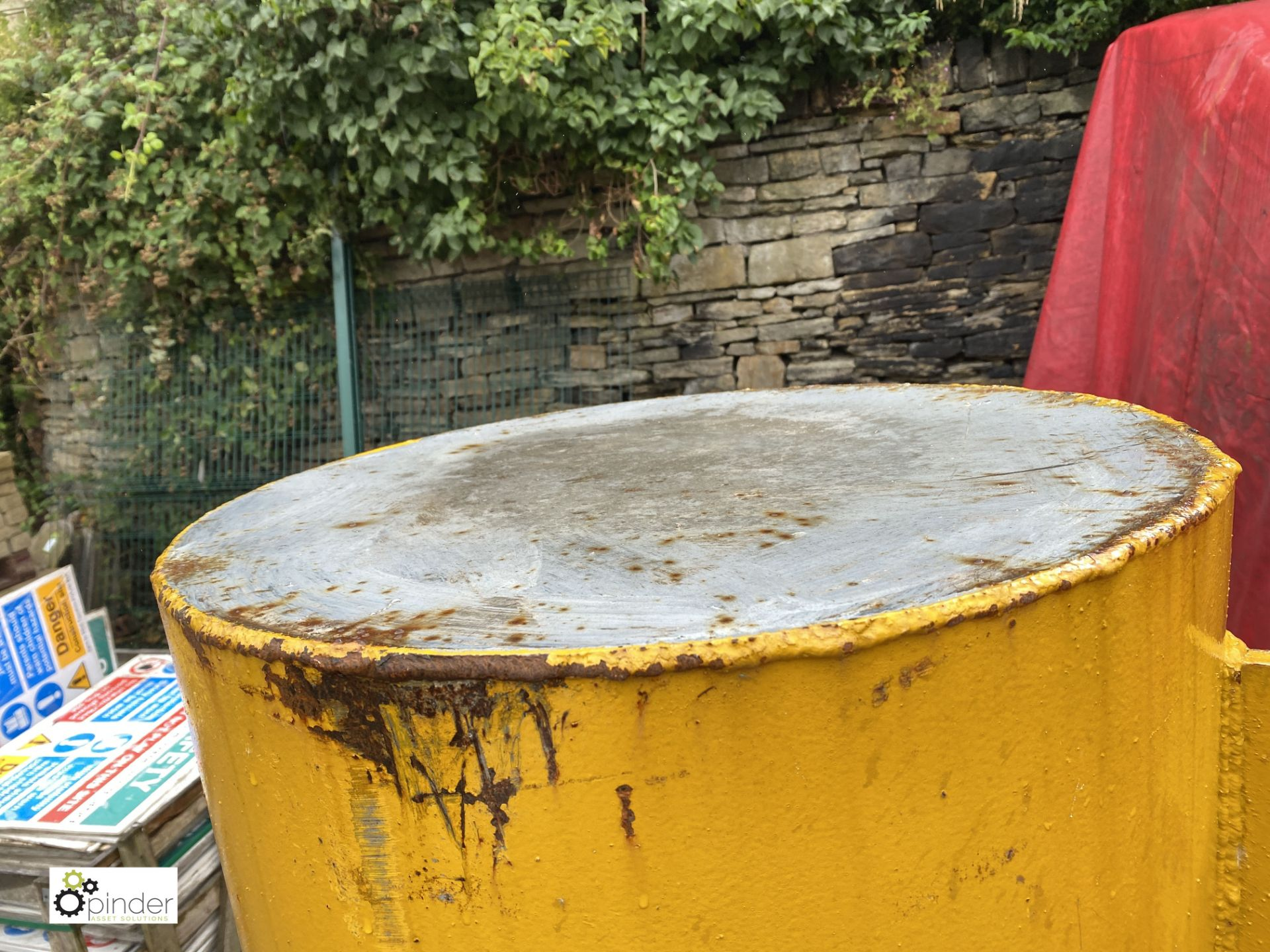 Forklift Truck Test Weight, 1250kg, approx. 1740mm x 600mm diameter (LOCATION: Station Lane) - Image 3 of 4