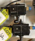 2 Norgren Solenoid Control Valves