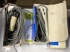 3 Omron Photoelectric Switches