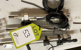 3 Joucomatic Actuators with sensors