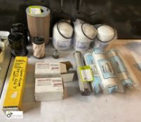 Quantity various Air Filters, to Bosch, Schroder, etc