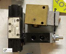 3 various Air Valves/Actuators