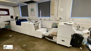 Xerox Versant 80 Digital Press, comprising Xerox EX80 Fiery, Paperdeck A-CF01, Versant 80 JB240