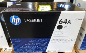 HP 64A Print Cartridge, black, boxed and unused