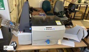 Pitney Bowes DA95F Envelope Printer, 240volts, serial number 5900206