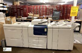Xerox D110 Mono Digital Press comprising EX125 Fiery RIP, JCF-1 double tray oversized high