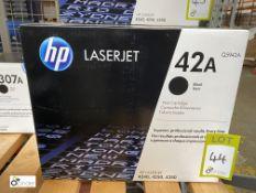HP 42A Print Cartridge, black, boxed and unused