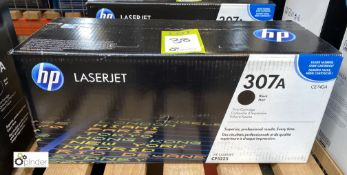 HP 307A Print Cartridge, black, boxed and unused