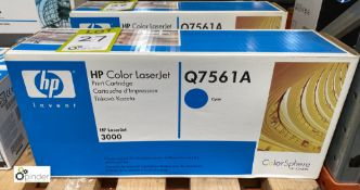HP Q7561A Print Cartridge, cyan, boxed and unused