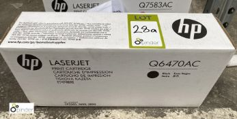 HP Q6470 AC Print Cartridge, black