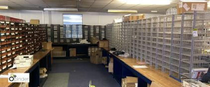 Large quantity Mailing Trays to mail room