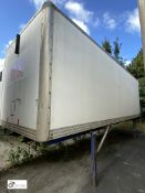 Demountable Box, 7550mm x 2550mm, fleet number ARCB0724