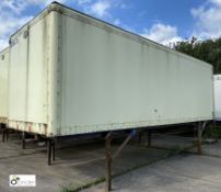 Demountable Box, 7550mm x 2550mm, fleet number ARCB0647X
