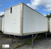 Demountable Box, 7550mm x 2550mm, fleet number ARCB0722