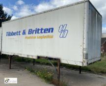 Don-Bur Demountable Box, 7550mm x 2550mm, fleet number ARCB9918