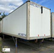 Demountable Box, 7550mm x 2550mm, fleet number ARCB0714