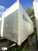 Don-Bur Demountable Box, 7550mm x 2550mm, fleet number ARCB9904