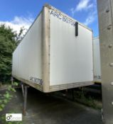 Demountable Box, 7550mm x 2550mm, fleet number ARCB0709
