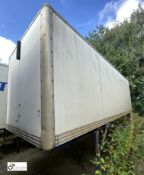Demountable Box, 7550mm x 2550mm, fleet number ARCB0725