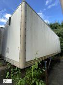 Demountable Box, 7550mm x 2550mm, fleet number ARCB0716