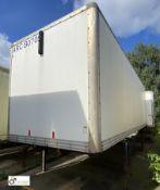 Demountable Box, 7550mm x 2550mm, fleet number ARCB0705