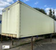 Cartwright Demountable Box, 7550mm x 2550mm, fleet number ARCB0646X