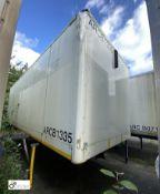 Demountable Box, 7550mm x 2550mm, fleet number ARCB1335